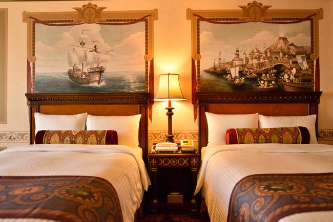 【どこまでも夢の国】ディズニーホテル・ミラコスタのベッドメイキングが神業!