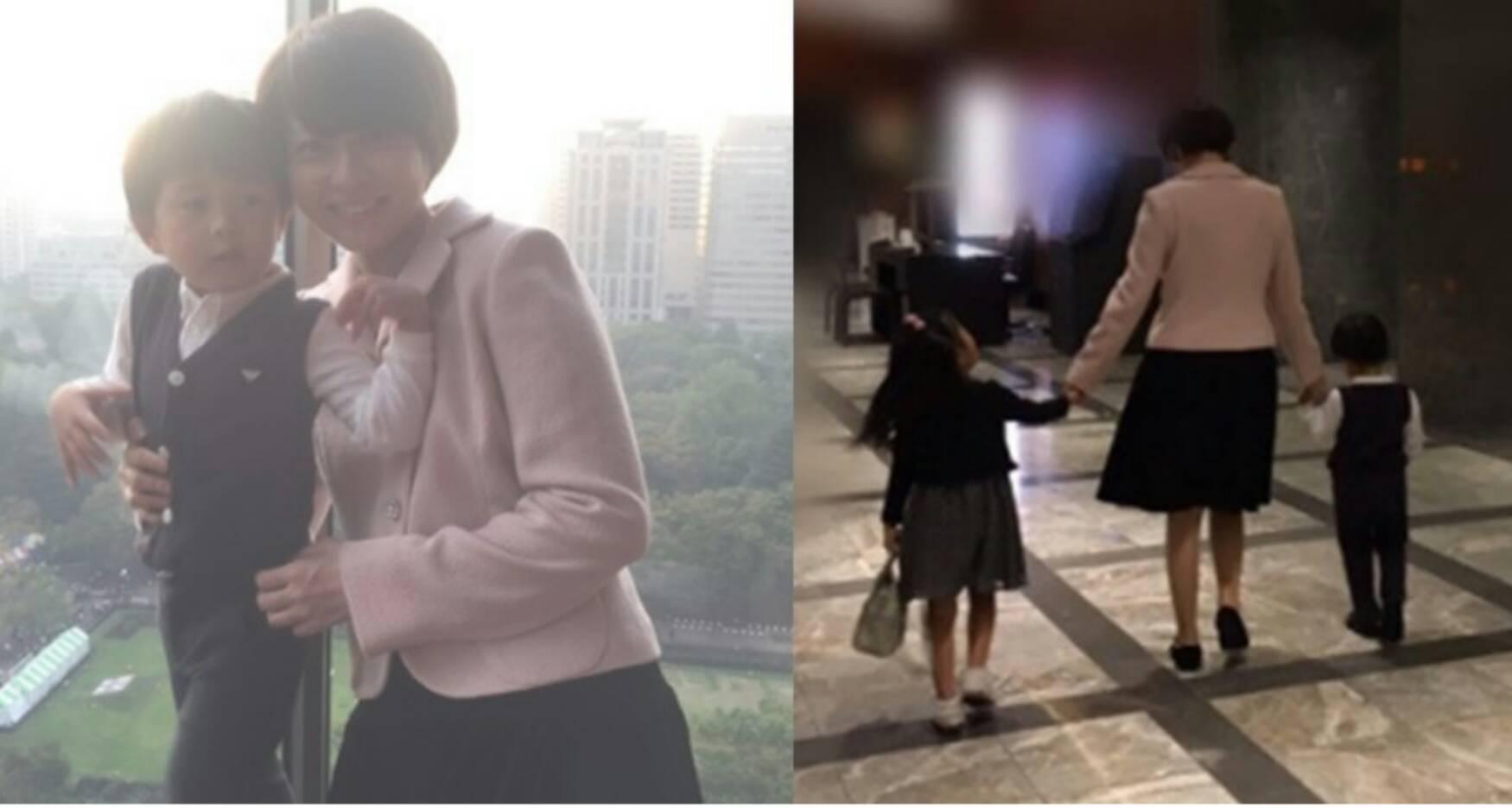 【外出解禁!?】このタイミングで違和感。。麻央さんが子供と一緒にお出かけ。。。海老蔵は家族写真見て「一番幸せな日」と。