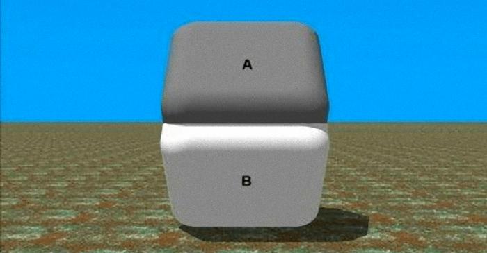 【驚愕】AとBの真ん中を指で隠すと・・驚愕すぎる目の錯覚