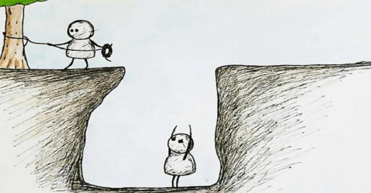 【※恐怖画像】あなたはこの絵の意味がわかりますか?凍りつく恐怖で話題のイラスト!