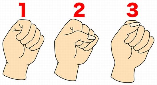 【こぶし診断】握りこぶしの握り方であなたの性格がズバリ当たる!あなたはこの3タイプのうちどれ?【当たりすぎ注意】