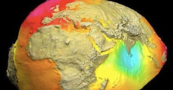 【衝撃画像】地球は青くなく、丸くもなかった!NASAが公開した地球の本当の姿がヤバイ・・・