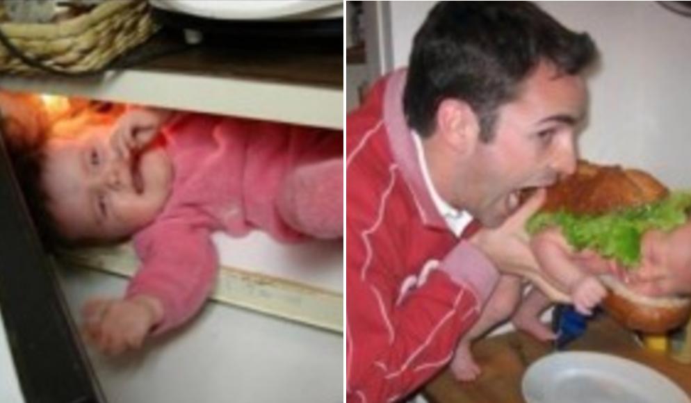 """【※大炎上】赤ちゃんを電子レンジで「チン♪」した父親に批判殺到→""""これは完全に笑えない"""""""