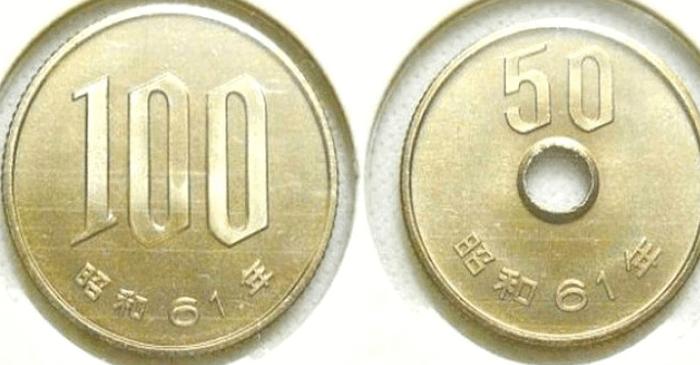 【クイズ】分かればIQ130以上?硬貨が2枚あり合わせて150円です。その一方が50円玉でないとすると、2枚は何と何でしょうか?