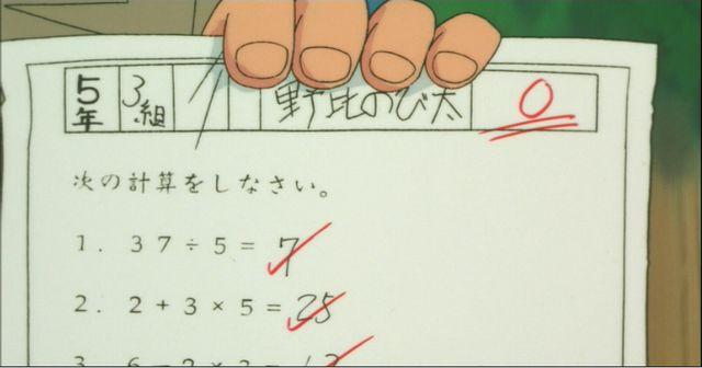 のび太がテストで0点しか取れない理由・・・闇が深すぎると話題に