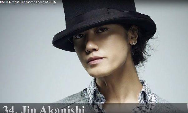 「世界で最もハンサムな顔100人」が発表に。日本人トップはやっぱりあの人!!