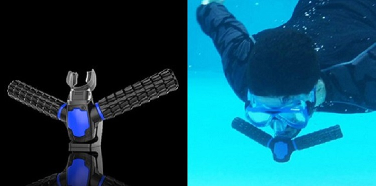 人間が魚気分を味わえる!水中で呼吸できる人工エラ「トリトン」が爆発的な支持を得て開発決定!!(後日談あり)