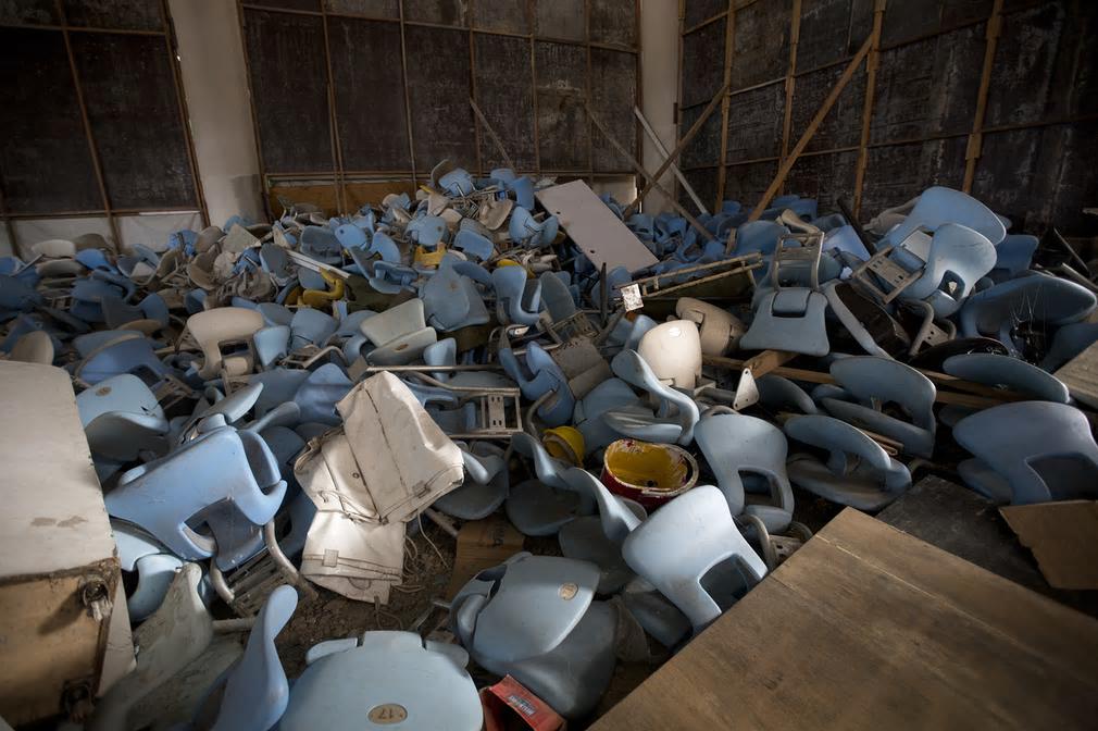 リオ・デ・ジャネイロオリンピックの会場の半年後・・・見るも無残な廃墟と化す