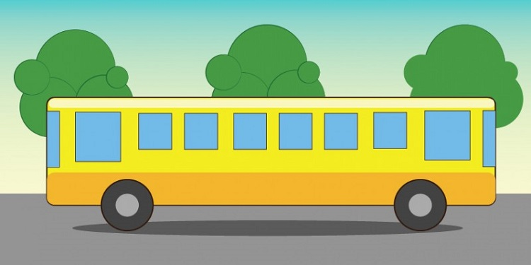 【子どもなら瞬時に解ける!】このバス、どっちに走ってるかわかる?