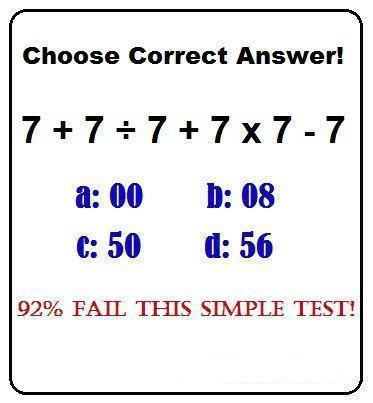 【あなたは解ける?】ほとんどの人が間違えるこの計算問題の答えは?これが解けたらIQ150以上!!