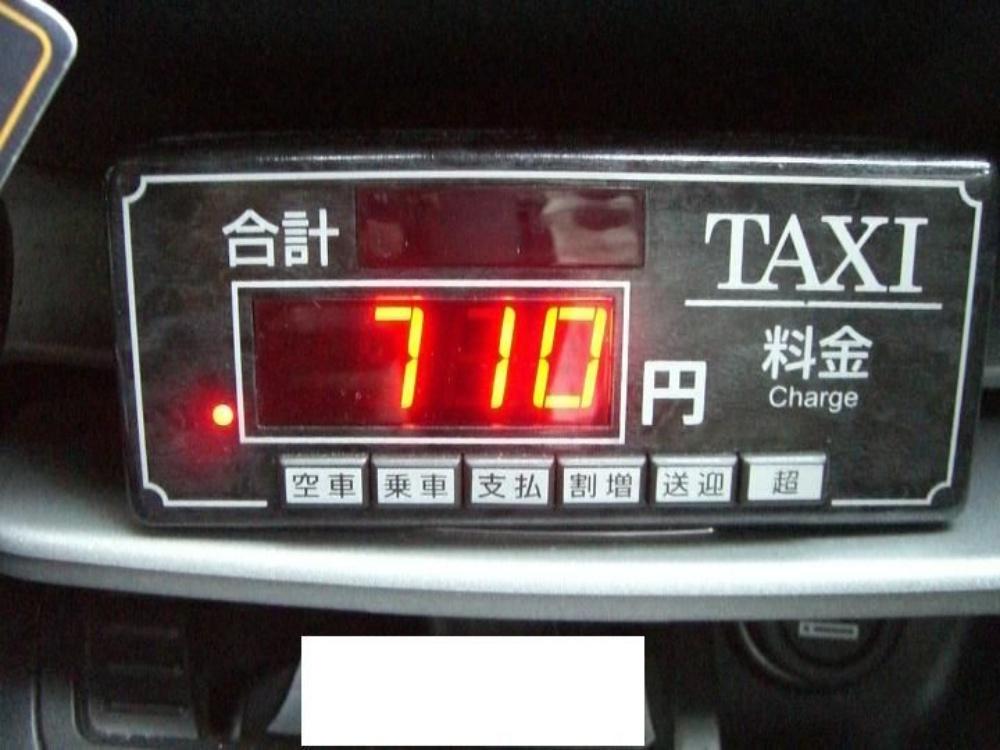 【※衝撃】タクシーメーターがトンデモナイ速度で上昇!!怪しいから録画した結果・・衝撃の結末が!!