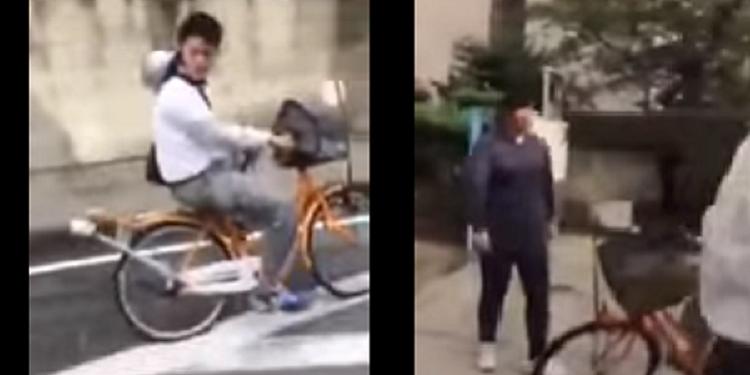 【笑劇】改造自転車で登校した生徒に女性教師が掛けた言葉が衝撃すぎるwww※動画アリ