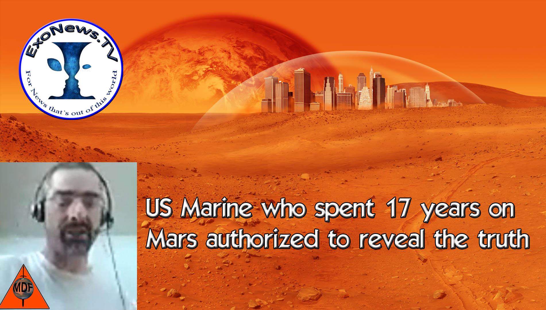 【※衝撃】「17年間火星に派遣されていた!』アメリカの海兵隊員が内部告発!火星人との戦闘対戦を赤裸々暴露!!