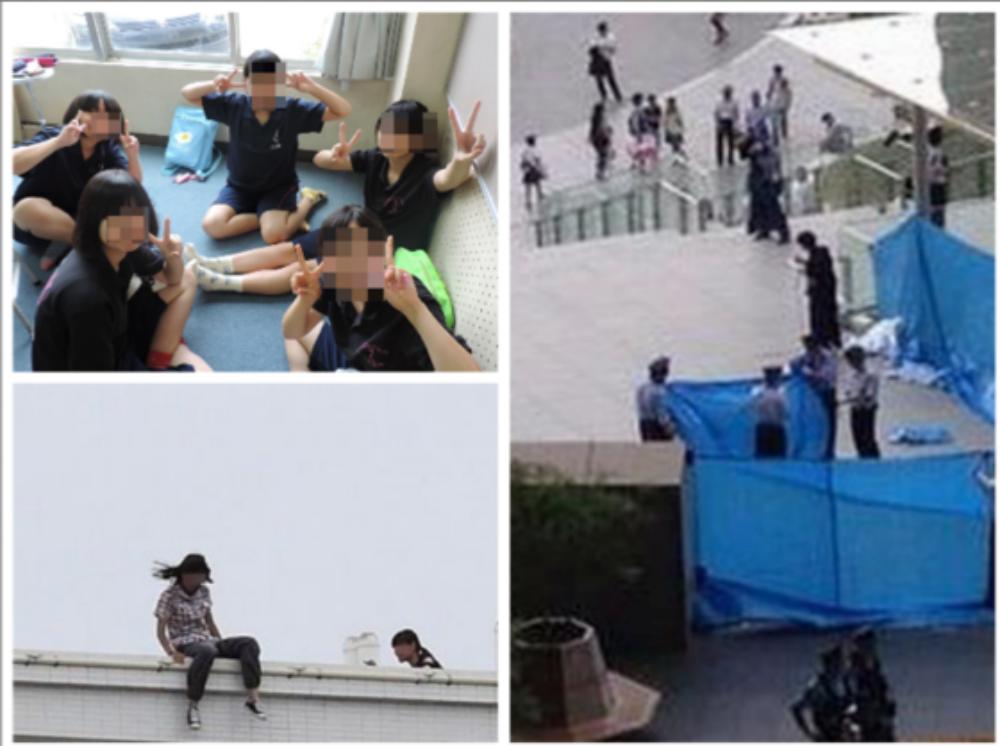 【※衝撃】13歳の少女5人が次々にマンションから飛び降り!衝撃的な真相とは・・・。