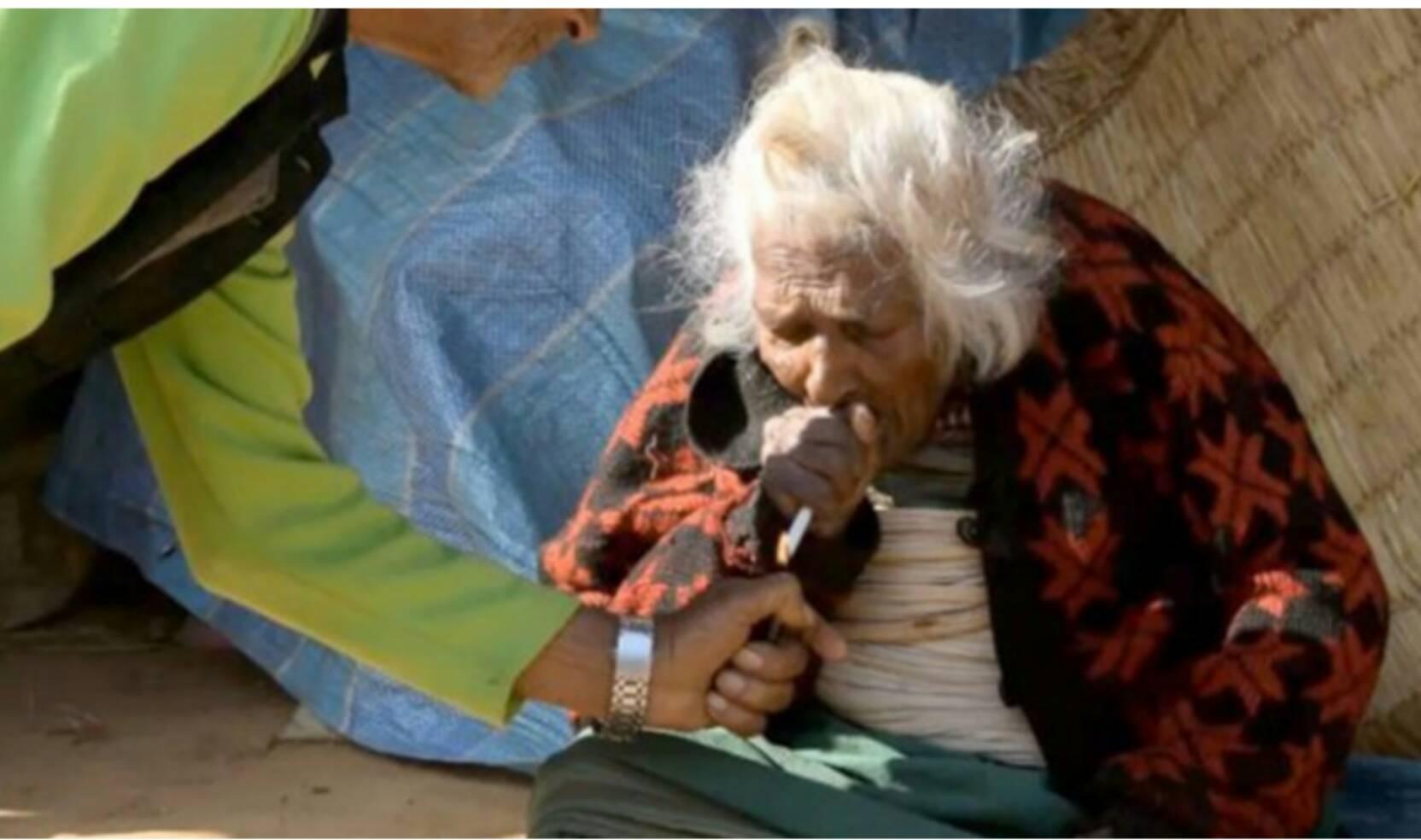 【これホント?】1日30本を95年間吸い続けた112歳女性の長生きの秘訣
