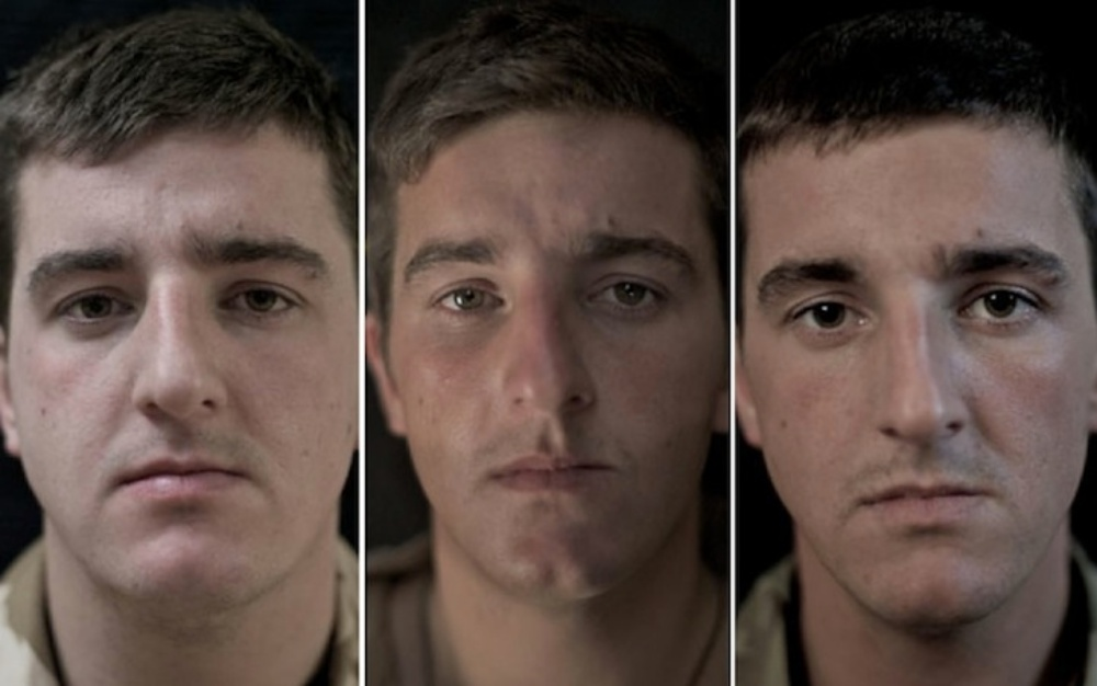 【衝撃】7ヶ月間戦争を経験しただけで人の顔つきはここまで変化する!