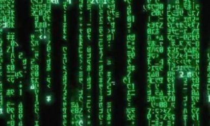 【衝撃】映画「マトリックス」のオープニングで流れ落ちる緑のカタカナの秘密が明らかに!!