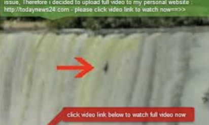 ナイアガラの滝に落ちて日本人死亡!?内容が衝撃的過ぎる・・・(※画像有)