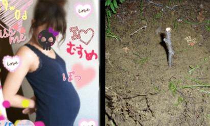 これはヤバイ!!生後間もない赤ちゃんを公園に埋めたJKが逮捕!!