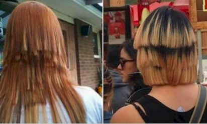 こんなの見たことない!なヘアスタイル11選。4番目は明らかに何かを証明しようとしている?