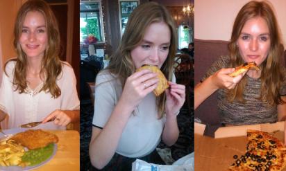 一週間ファーストフードだけを食べ続けた女性ライター!!7日後、彼女の身体に驚くべき変化が・・・