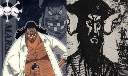 【衝撃】実在した海賊だった!ワンピースのキャラクターTOP5