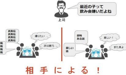 【上司との飲みニケーションも仕事の一環!?】無礼講でぶっちゃけます!「飲み会離れ」について上司に聞いてほしいコト 7選!