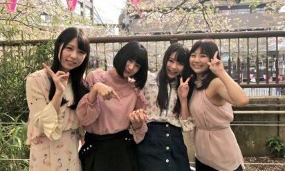【必見】凄すぎる!?超人気A◯女優大集合でプライベートお花見を開催!!