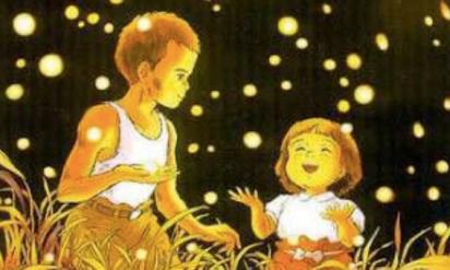 【鳥肌もの】アニメ「火垂るの墓」のポスターの光は蛍だけじゃなかった‥夜空の影は‥