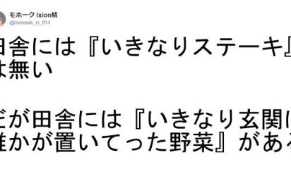 """【驚愕!これが当たり前すぎる""""日常""""でございます!!】これほんとに日本…?都会の人には伝わらない田舎の日常8選"""