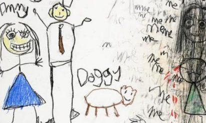 【衝撃】5歳の娘が突然習い事に行かなくなった→ 描いていた絵を精神科の医師に見せてわかった驚愕の事実とは!?