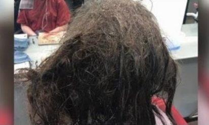美容師は少女の髪を見て思わず息を飲んだ→13時間後、彼女は見違えるほどの大変身を遂げる