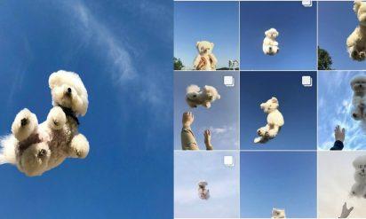 """【愛犬を投げる写真に""""イイネ""""!?】危険すぎる「#空ショット(#하늘샷)」が流行中!?"""