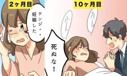 【漫画】妊娠すると、どんな生活になるのか?